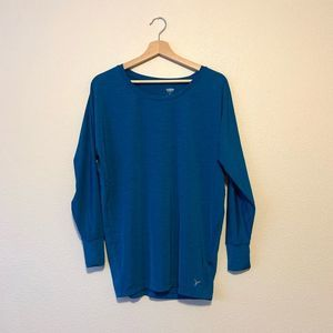 OLD NAVY Active Long Dolman Sleeve Sports Top S